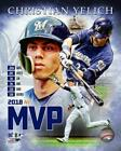 Christian Yelich Milwaukee Brewers 2018 NL MVP Photo VV025 (Select Size) on Ebay