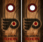 Philadelphia Flyers Cornhole Wrap NHL Decal Wood Vinyl Gameboard Skin Set YD22 $39.55 USD on eBay