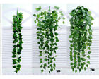 Artificial Fake Hanging Vine Plant Leaves Garland Home Garden Wall Decor Rattan