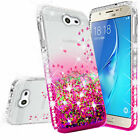 For Samsung Galaxy J3 2017,J7 2017 Cute Ring Stand Bling Phone Case w/Kickstand