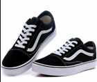 New Men's and Women's Vans Old Skool Black Skateboard Classic Canvas Suede