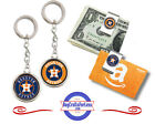 FREE DESIGN > HOUSTON ASTROS - Money/Gift Card Clip or Keyring <FAST SHIP> on Ebay