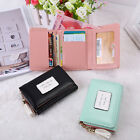 Fashion Women Small Credit ID Cared Holder Short Wallet Mini Purse Coin Handbag image