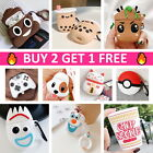AirPods Cute Cartoon Design Silicone Case Cover Protective for Apple Airpod 1 2