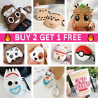 AirPods Cute Cartoon Design Silicone Case Cover Protective for Apple Airpod 1 2 $8.59  on eBay