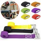 Car Tow Rope Buckle Tie-Down Straps Belt Cargo For Motorcycle Bike Luggage Bag