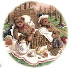 Teddy Bear Picnic Round Select-A-Size Waterslide Ceramic Decals Ox image