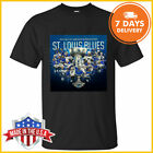 St.Louis Blues 2019 Stanley Cup Champions Hockey T-Shirt Black&White&Navy S-6XL $11.99 USD on eBay