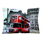 """LONDON CLASSIC Decorative Pillow Case 16"""" x 24"""" and 18"""" x 26"""" Cushion Cover image"""