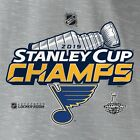 St. Louis Blues 2019 Stanley Cup Champions Royal T-Shirt  S-3XL $9.99 USD on eBay