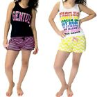 2329S Women's 2 Pack Cami or Tank and Shorts Pajama Set