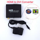 Converter HDMI to DVI Video Adapter Box HD 1080p Composite Coaxial Audio Out