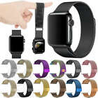Milanese Loop Stainless Steel Strap iWatch Band For Apple Watch 42mm/38 40/44mm image