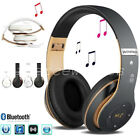 Wireless Bluetooth Kids Over-Ear Headphones Earphones for iPad/Tablet/Phones UK