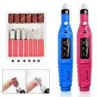 6Bits Electric Nail File Drill Kit Manicure Pedicure False Nail Acrylic Machine for sale  Shipping to Nigeria