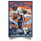 NEW WALTER PAYTON Chicago Bears NFL Posters Awesome Gifts Decor Living Room $28.95 USD on eBay