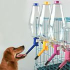Pet Water Bottle Durable Dog Water Hanging Automatic Dispenser Lager Dog Cage US