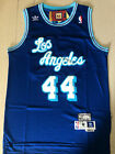 Los Angeles Lakers #44 Jerry West Retro Blue Basketball Jersey Size: S-XXL on eBay