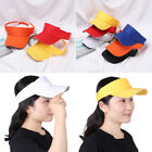 Unisex Summer Cotton Cap Running Tennis Golf Sunscreen Hats Visor Cap Adjustable