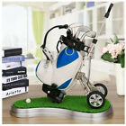 Novelty Golf Bag Trolley Clubs Stand Gif Dad Aluminum Pen Pencil Bag Gifts Golf