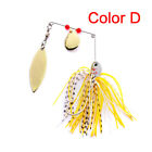 Buzzbait Fishing Lures Jigs Spinner Bait Spoon Crank Leadhead Sharp Hooks Tackle