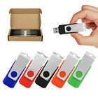 Kootion 5 Color 5/10 Pack 1GB 2GB 4GB 8G 16G 32G 64G USB 2.0 Flash Drive Storage