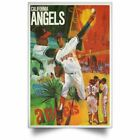 Champions LOS ANGELES ANGELS Baseball Posters Awesome Gifts Decor Living Room on Ebay