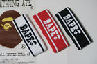 Hot A Bathing Ape Bape Black White Red Headband Bape Head Band For Men and Women