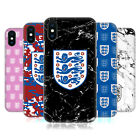 ENGLAND FOOTBALL TEAM CREST AND PATTERNS HARD BACK CASE FOR APPLE iPHONE PHONES