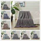 Tassel Throw Woven Soft Warm Throw Blanket Reversible 50 x 60 inches image