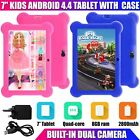 "7"" Inch Kids Android 4.4 Tablet Pc Quad Core With Wifi Camera And Games"