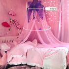 Girls Room Mosquito Net Butterfly Canopy Play Bed Kids Hung Round Dome Mesh image