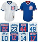 Chicago Cubs Cooperstown Collection Pullover CoolBase Replica Jersey White/Royal on Ebay