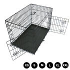 Metal Dog Cage Puppy Animal Training Kennel Pet Carrier Crates 24