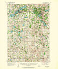 1957 Topo Map of Prior Lake Minnesota Maple Glen Spring Lake