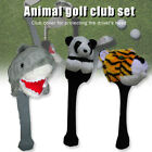 Animal Golf Headcover Driver Head Cover Sports Golf Club Accessories