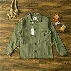 Men's Vintage Replica US Army WWII USMC Coat Military Work P41 Jacket Cotton New