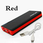 4 USB Power Bank 100000mAh Portable External Battery Mobile Phone Charger & LED