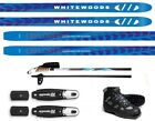 NEW EXPLORER XC cross country NNN SKIS-BINDINGS-BOOTS-POLES PACKAGE - 180cm