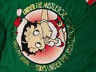 Betty Boop Under Mistletoe Girls Long Sleeve Christmas T-Shirt kids youth NEW!!! $19.81 CAD on eBay
