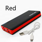 100000mAh Power Bank Portable External Battery Charger with LED for Phone 4USB