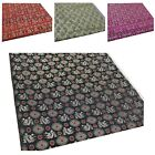 Faux Silk Brocade (Dragon Checked) Jacquard Damask Kimono Fabric Material*BC4