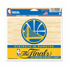 Golden State Warriors Wincraft 2016 The Finals Conference Champs Reusable Decal on eBay