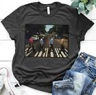 Star Trek Characters Abbey Road T Shirt Dark Heather Men Cotton S-6XL on eBay