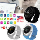 Men Women Smart Watch Bluetooth Wristwatch Pedometer for Android Smart Phones US