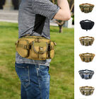 USA Men Tactical Waist Pack Pouch Military Camping Hiking Outdoor Bag Belt Bags