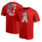 Mike Trout Los Angeles Angels Big & Tall Banner Wave Name & Number T-Shirt S-5XL on Ebay