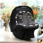 Baby Kid Stretchy Nursing Breastfeeding Cover Multi Use Car seat Canopy Stroller