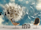 3D Flying Dandelion B03 Wallpaper Wall Mural Removable Self-adhesive Sticker Zoe