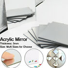 Small Space Home Decor Multi Sizes Clear Mirror Acrylic Plate Plastic Sheet Safety 3mm Thickness Panel Home Decor Blogs Uk